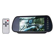 7 hüvelykes TFT-LCD parkoló autó visszapillantó monitor állvánnyal fordított biztonsági kamera kiváló minőségű