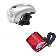 Radlichter / Fahrradlicht / Fahrradrücklicht LED - Radsport Einfach zu tragen AA / AAA 100 Lumen Batterie Radsport-Beleuchtung