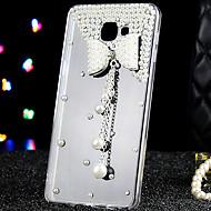 Kompatibilitás Samsung Galaxy tok tokok Strassz Átlátszó Hátlap Case 3D figura Akril mert Samsung Galaxy A9