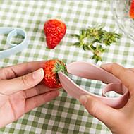 creatieve aardbei aardbeien stengels gesneden steel separator apparaat clip