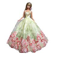 Poupée Barbie motif Fée de papillon d'arc de noir robe de princesse