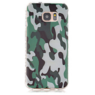 For Samsung Galaxy S7 Edge Mønster Etui Bagcover Etui Camouflage TPU for Samsung S7 edge S7
