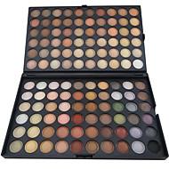 120 colores mate sombra de ojos profesional / maquillaje en polvo seco paleta de cosméticos de maquillaje ahumado / maquillaje de fiesta