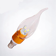 HRY® 3W E14 SMD5730 Warm White/Cold White Color Led Candle Light Led Lamp(85-265V)