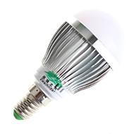 3W E14 / GU10 Bombillas LED de Globo A60(A19) 6 SMD 5730 280lumens lm Blanco Cálido / Blanco Natural Decorativa AC 100-240 V 1 pieza