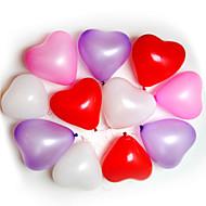 Palloncini a forma di cuore 100pcs Ricorrenze Wedding Birthday Party Decoration Forniture Ballon Partito Decora