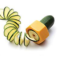 Creative Pencil Sharpener Spiral Slicer/Cucumber Mmelon Food Fruit and Vegetable Peeler Cutplane Easy for Slicer