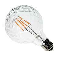 Youoklight® e27 4w 300-350lm ανανάς vintage αντίκες edison νήμα cob οδήγησε λαμπτήρα ac220-240v