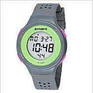 SYNOKE Muškarci Ručni satovi s mehanizmom za navijanje Šiljci za meso LCD Kalendar Kronograf Vodootpornost alarm Svjetleći Plastic Grupa