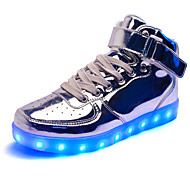 Women's LED Shoes USB Ballerina/Novelty Flats/Fashion Sneakers/Athletic Shoes Outdoor