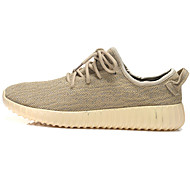 Running Running Shoes Men's / Women's Anti-Slip / Damping / Wearproof / Breathable Low-Top / Coconut Shoes Leisure SportsWhite / Green /