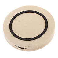 For Galaxy Note 4 3 S5/4/3 Qi Wireless Charger Wood Pad