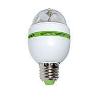 3W LEDBühnenleuchten 100 lm RGB SMD Geräusch aktiviert AC 85-265 V 1 Stücke