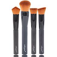 4.0 Brush Lavastus / Poskipunasivellin / Peitevoidesivellin / Puuterisivellin / Alusvoidesivellin / Toinen sivellin / Contour Brush