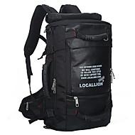 50 L Randonnée pack Organisateur Voyage Sport de détente Extérieur Etanche Séchage rapide Vestimentaire Respirable NoirNylon Oxford
