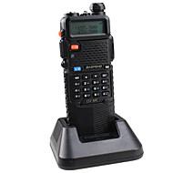 Baofeng UV-5R-5W+3800L-black Radiopuhelin 4W / 1W (Max 5W) 128 136-174MHz / 400-520MHz 3800mAh 3KM-5KMFM-radio / Hälytysjärjestelmä /