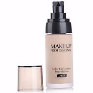3 Foundation Våd FlydendeFugt Solbeskyttelse Dekning Blegende Olie kontrol Længerevarende Concealer Vandtæt Ujævn hud Naturlig Behandling