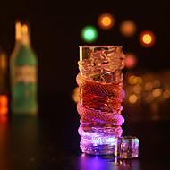1szt kolorowy kreatywnych losowy pub KTV led lampka nocna lampka led Drinkware