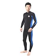 SLINX® Muškarci Mokra odijela Dive Skins Dugo mokro odijelo Ultraviolet Resistant Kompresija Kompletna maska Tactel LYCRA®Ronilačko