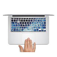 1 τμχ Προστασία από Γρατζουνιές Πλαστικές διάφανες Αυτοκόλλητο Σούπερ Λεπτό / Ματ / Εικόνα Καρτούν ΓιαMacBook Pro 15 '' με Retina /