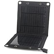 saída USB 7W dobrar energia solar carregador de bateria externo portátil para 6s iphone mais samsung Huawei Sony HTC etc