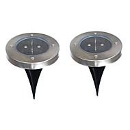 6W LED solari 200 lm Bianco caldo Capsula LED Batteria V 2 pezzi