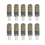 3W G4 LED Doppel-Pin Leuchten T 24 SMD 3014 300 lm Warmes Weiß / Kühles Weiß Dekorativ DC 12 V 10 Stück