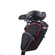 ROSWHEEL® CykeltaskeSadeltasker Vandtæt Stødsikker Påførelig Multifunktionel Cykeltaske Klæde 600D Polyester Cykeltaske Cykling 25*16*9