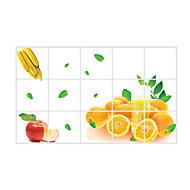 플로럴 / 모양 벽 스티커 플레인 월스티커 데코레이티브 월 스티커,pvc 자료 이동가능 / 재부착가능 홈 장식 벽 데칼