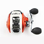Carretes para pesca spinning 6.3/1 0 Rodamientos de bolas Intercambiable Pesca de baitcasting / Pesca en General-LV100 Yuqu