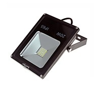 20W LED-lyskastere 1800 lm Kjølig hvit COB Dekorativ / Vanntett AC 220-240 V 1 stk