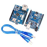 Ulepszona wersja uno r3 + ulepszona wersja ethernet mega2560 wsparcia W5100 r3 tarcza karta sieciowa