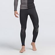 SBART Men's Diving Suits Diving Suit Compression Wetsuits 1.5 to 1.9 mm Black L / XL / XXL / XXXL / XXXXL Diving
