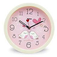 (Boja slučajna) 8 inča djeca spavaća soba slatka crtani zidni sat mute kružni sat kvarcni sat