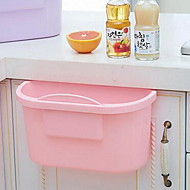 Large Plastic Kitchen Cupboard Doors Hanging Trash Can Debris Bucket
