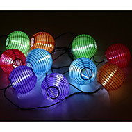 Waterproof 3M 10LED Solar Lantern Christmas LED String Lights