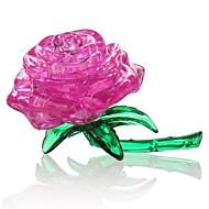 Puzzle Zabawki 3D Kryształowe puzzle Cegiełki DIY Zabawki Róże