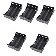 5PCS 18650 Section 3 DIY Lithium Battery Pack Installed Pin Battery Holder Shatterproof Material Of The Battery Case