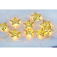 13.5M 10LED Star String Lights