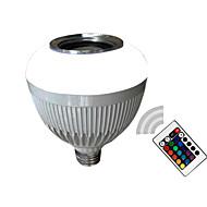 12W E26/E27 Ampoules LED Intelligentes A90 5050-12SMD+5730-14SMD SMD 5730 700LM lm Blanc Froid / RVB Commandée à Distance / BluetoothAC