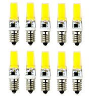 10PCS G9/E14 COB 1LED 540LM 6W Warm White / Cool White   Decorative AC 220V LED Bi-pin Lights