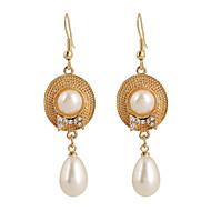 Europejski Frędzle Bohemia Style Styl Punk Modny luksusowa biżuteria Perłowy Kryształ Akrylowy sztuczna Diament Stop Round Shape Golden