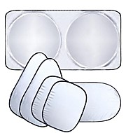 ziqiao autoraam zonnescherm voorruit vizier dekking block voorruit zonnescherm uv-bescherming auto glasfolie 6pcs / set
