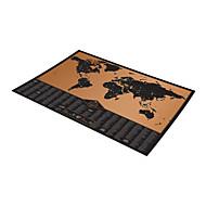 puslespil 3D-puslespil Byggesten DIY legetøj Papir Sort Fade Spil Legetøj