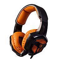Sades SA-806 Hörlurar (pannband)ForMediaspelare/Tablet / DatorWithmikrofon / DJ / Volymkontroll / FM Radio / Spel / Sport / Bruskontroll