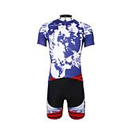 PALADIN® Camisa com Shorts para Ciclismo Homens / Unissexo Manga CurtaRespirável / Secagem Rápida / Resistente Raios Ultravioleta /