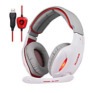Sades SA-902 7.1 Sound Channel High Performance USB Gaming Headset with Microphone Voice Control