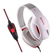 Sades SA701 ヘッドホン(ヘッドバンド型)Forメディアプレーヤー/タブレット / コンピュータWithマイク付き / DJ / ボリュームコントロール / FMラジオ / ゲーム / スポーツ / ノイズキャンセ / Hi-Fi