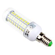 7,5 E14 / E26/E27 Ampoules Maïs LED T 72 SMD 5730 960 lm Blanc Chaud / Blanc Naturel Décorative AC 100-240 V 1 pièce