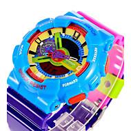 SANDA Miesten Naisten Unisex Urheilukello Digitaalinen Watch Quartz Digitaalinen Japanilainen kvartsiLCD Kalenteri Vedenkestävä